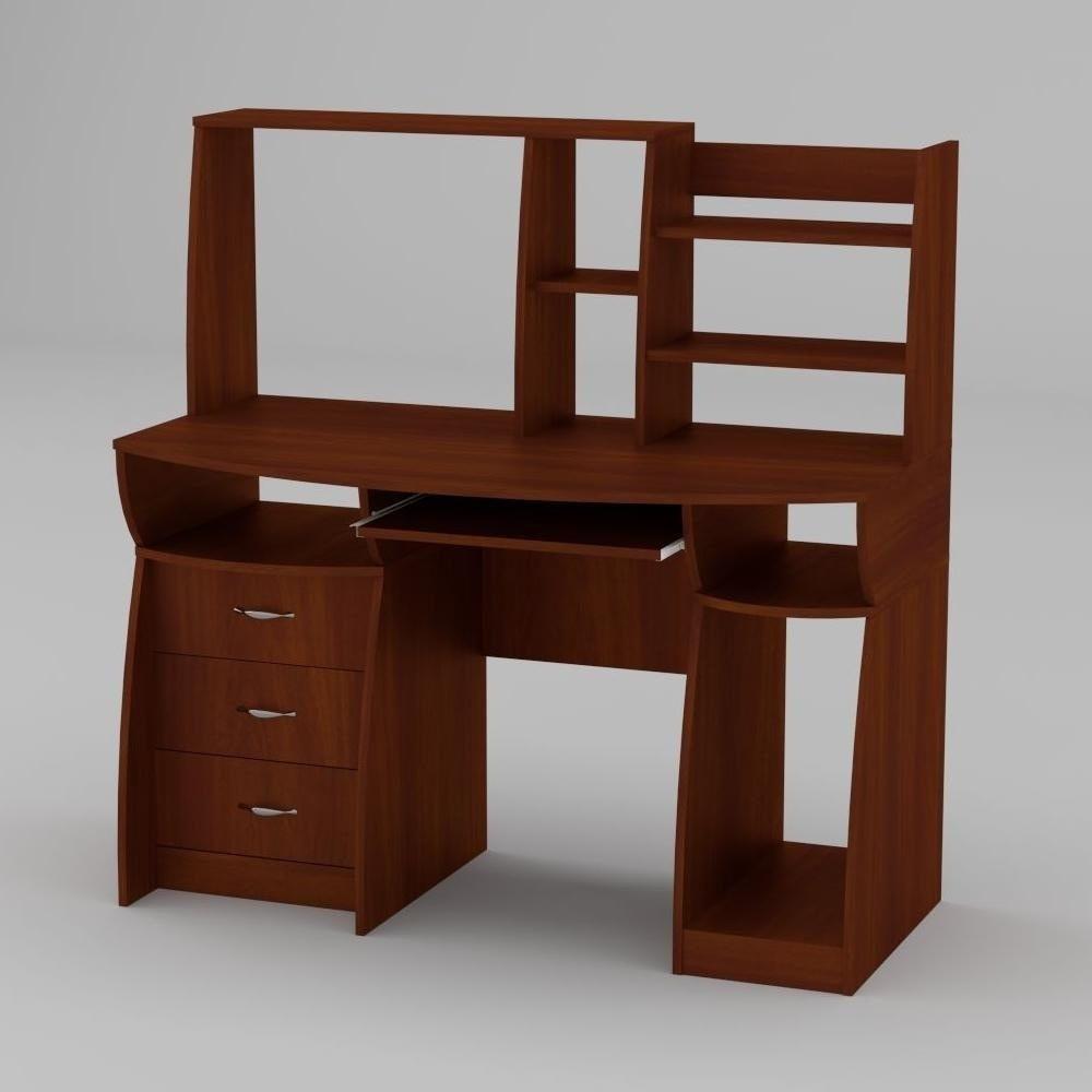 Компьютерный стол Компанит Комфорт-3 1310х700х809 мм яблоня