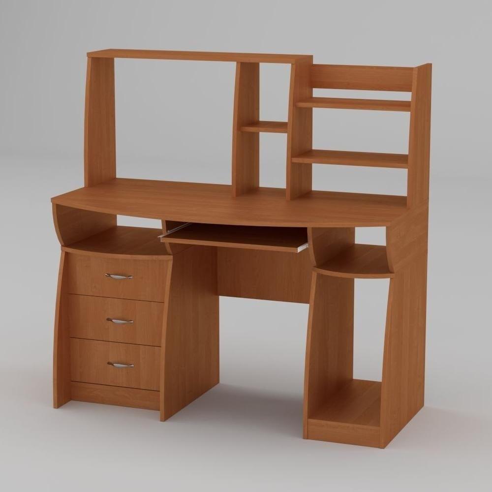 Компьютерный стол Компанит Комфорт-3 1310х700х809 мм ольха
