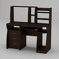Компьютерный стол Компанит Комфорт-3 1310х700х809 мм венге