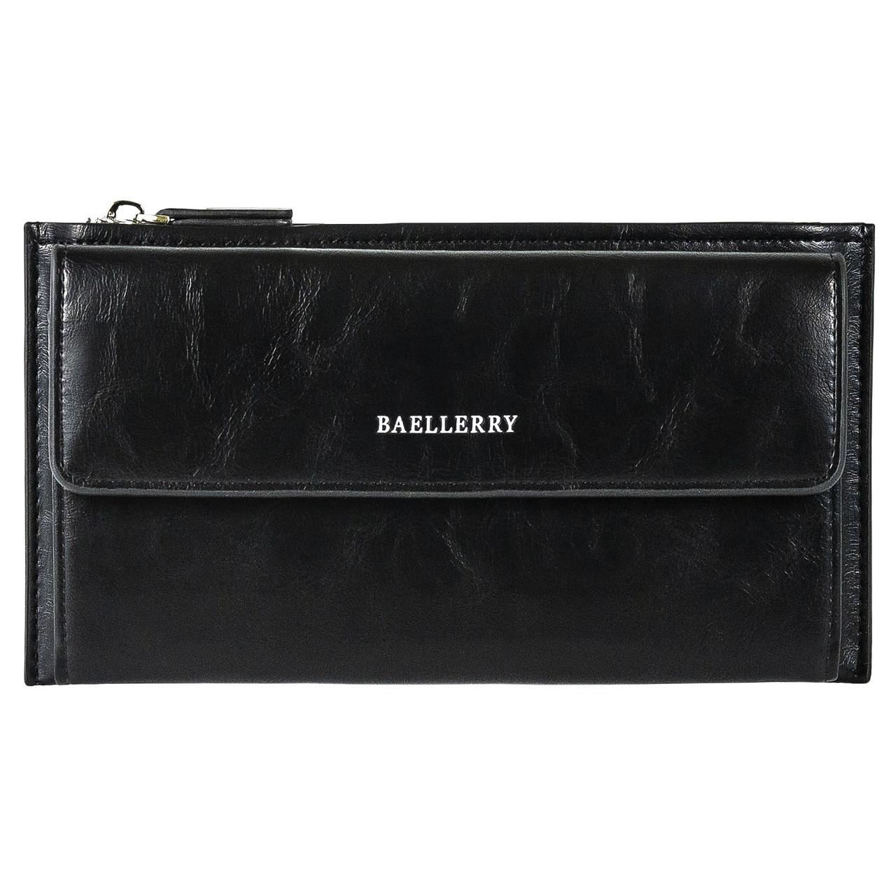 Кошелек мужской портмоне Baellerry S5518 черный