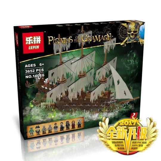 "Конструктор Lepin 16016 ""Летучий Голландец"" (аналог Lego Pirates of the Caribbean Sea), 3652 дет"