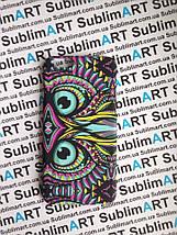 Дизайнерский чехол ручной работы для Iphone 6 soft-touch (Сова), фото 3