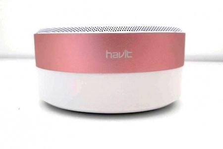 Портативная колонка HAVIT HV-M13 white/pink, фото 1