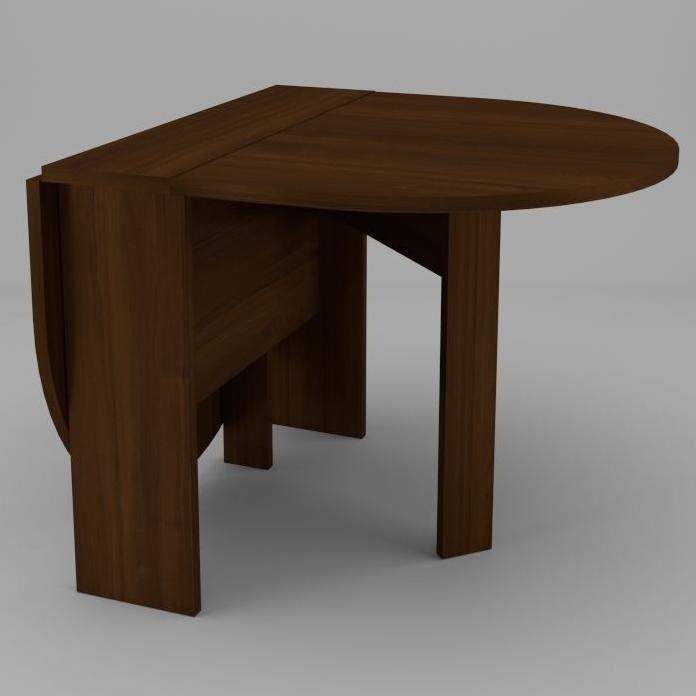 Мини стол-книжка-5 Компанит 600х182х500 мм орех