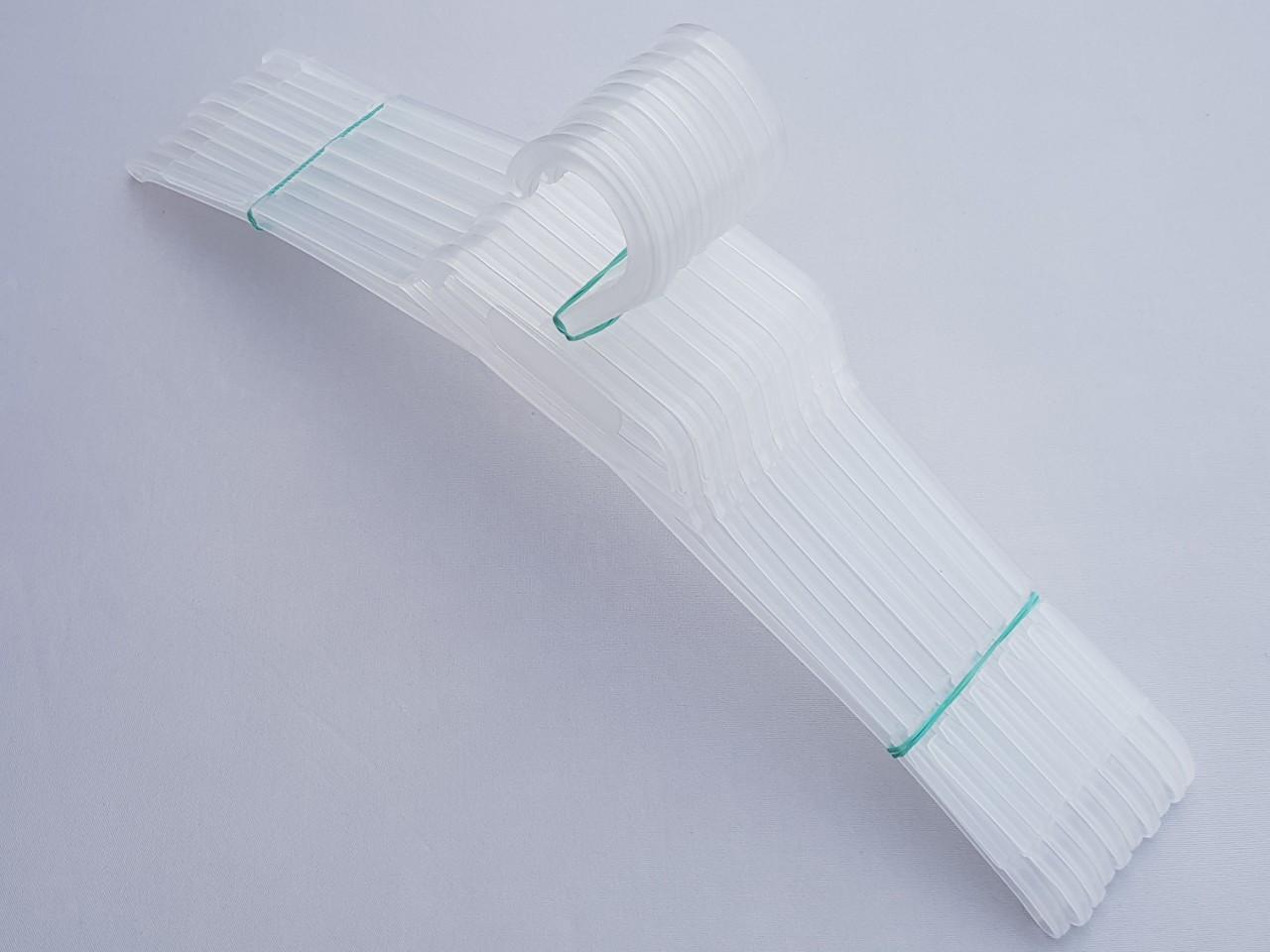 Длина 40,5 см. Плечики вешалки пластмассовые V-V42 цвет матовый, 10 штук в упаковке