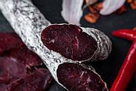 Сыровяленная колбаска Говядина на розовом вине