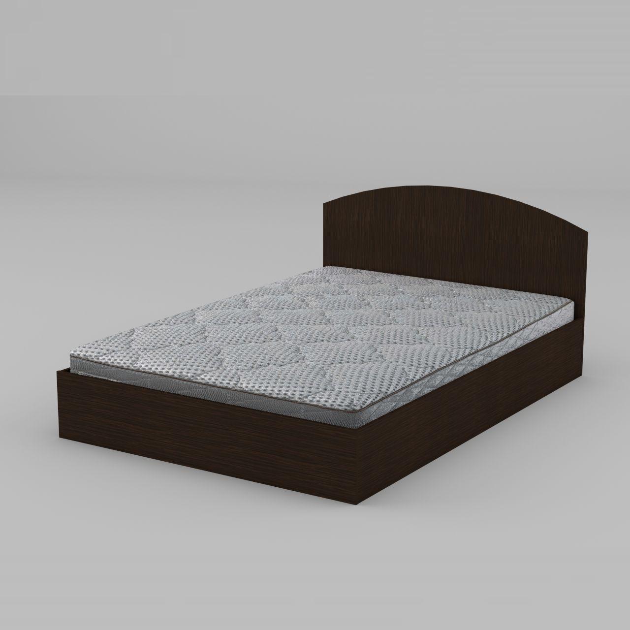 Ліжко Компаніт 140 1444х750х2042 мм венге