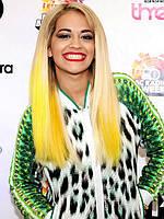 Цветной спрей для волос FLUO желтый