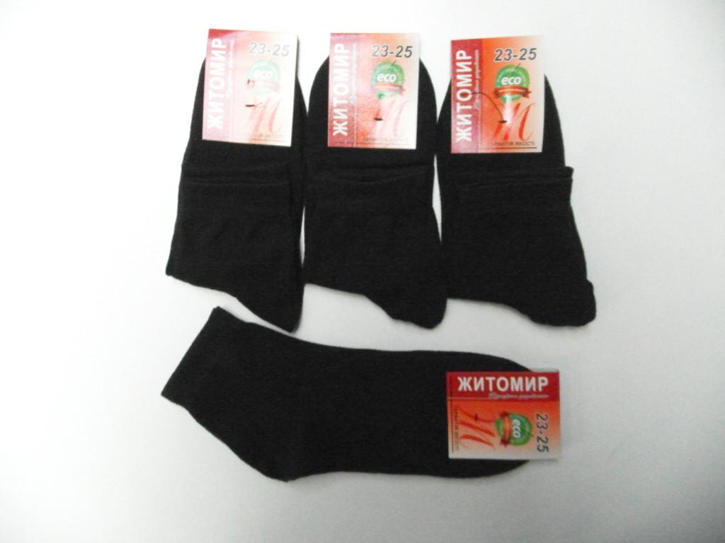 Носки женские гладь 23-25 размер Житомир 12 шт упаковка