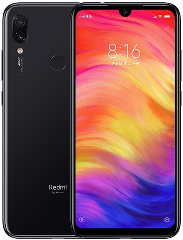 Смартфон Xiaomi Redmi Note 7 3/32Gb Black [Global] (M1901F7G) EAN/UPC: 6941059620631