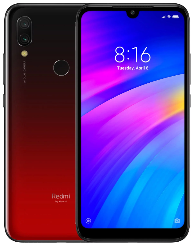 "Xiaomi Redmi 7 Red 3/32 Gb, 6.26"", Snapdragon 632, 3G, 4G (Global)"