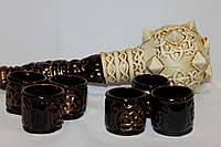 Наборы для коньяка керамические.