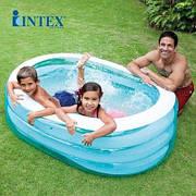 """Детский надувной бассейн Intex 57482 NP - """"Китенок"""" 163х107х46 см, обьем воды- 238 л."""