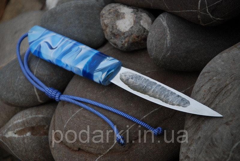 """Авторский нож якутского типа """"Морской"""""""