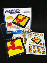 Логическая настольная игра  Танграм  (Tangram)