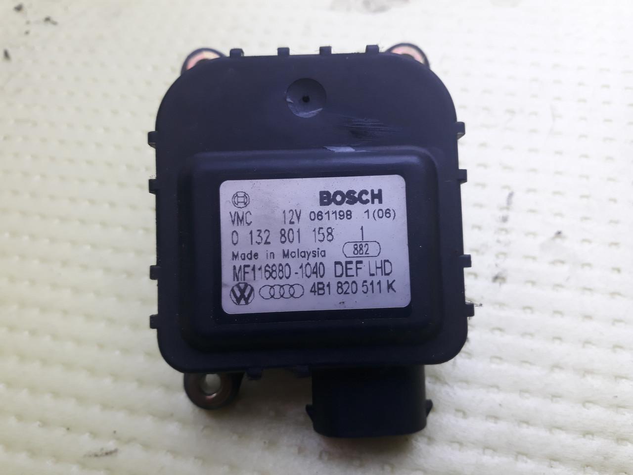 Моторчик сервопривод привод заслонки отопителя печки ауди а6 с5 audi a6 c5 4B1820511K