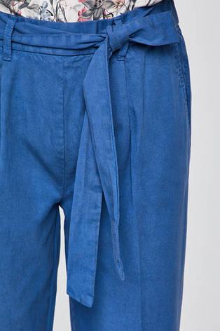 Брюки женские летние голубые, фото 2