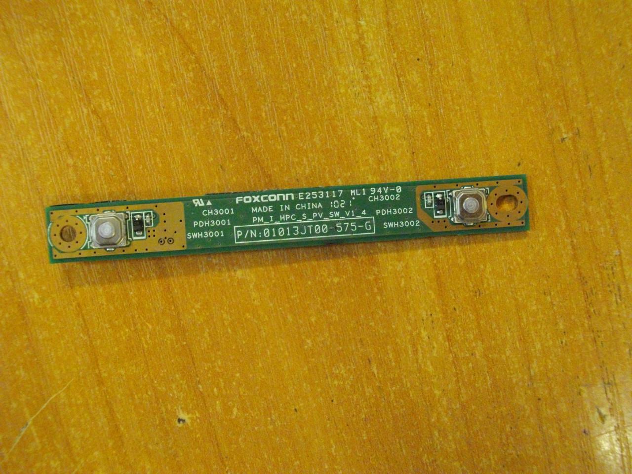 Плата с кнопками тачпада HP G62 БУ