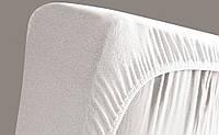 Наматрасник-Чехол VIALL КРУГЛЫЙ (дышащий, непромокаемый) цвет белый 71*71*10