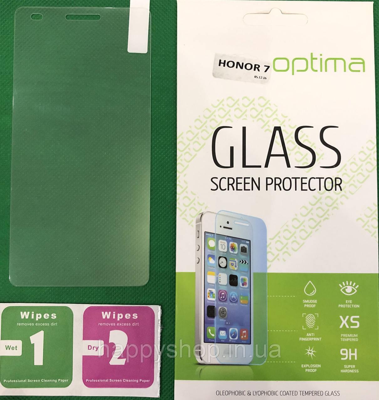 Защитное стекло Huawei Honor 7
