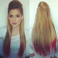 Цветной спрей для волос FLUO розовый
