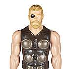 Фигурка Марвел Титаны Тор 30 см Мстители Война бесконечности. Оригинал Hasbro E1424/E0570, фото 8