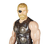 Фигурка Марвел Титаны Тор 30 см Мстители Война бесконечности. Оригинал Hasbro E1424/E0570, фото 9