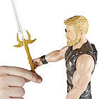 Фигурка Марвел Титаны Тор 30 см Мстители Война бесконечности. Оригинал Hasbro E1424/E0570, фото 10