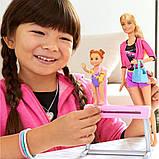 Барби тренер по гимнастике Barbie Gymnastics Coach & Student Doll Balance Beam Playset, фото 2