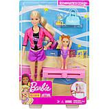 Барби тренер по гимнастике Barbie Gymnastics Coach & Student Doll Balance Beam Playset, фото 5