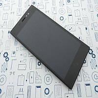 Б.У. Оригинал в рамке Nomi EVO X1 i5031 дисплей (модуль) в корпусе Черный