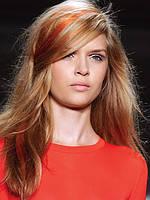 Цветной спрей для волос FLUO оранжевый