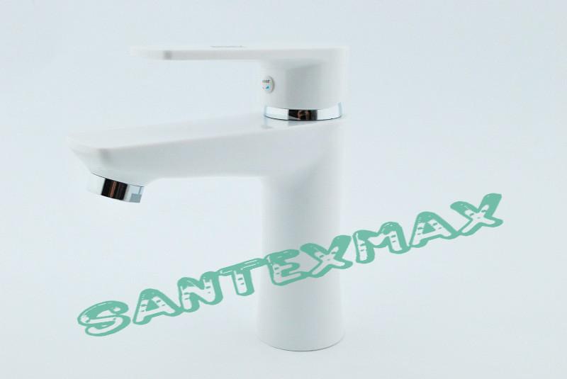 Смеситель для умывальника из термопластичного пластика SW Brinex 001 W