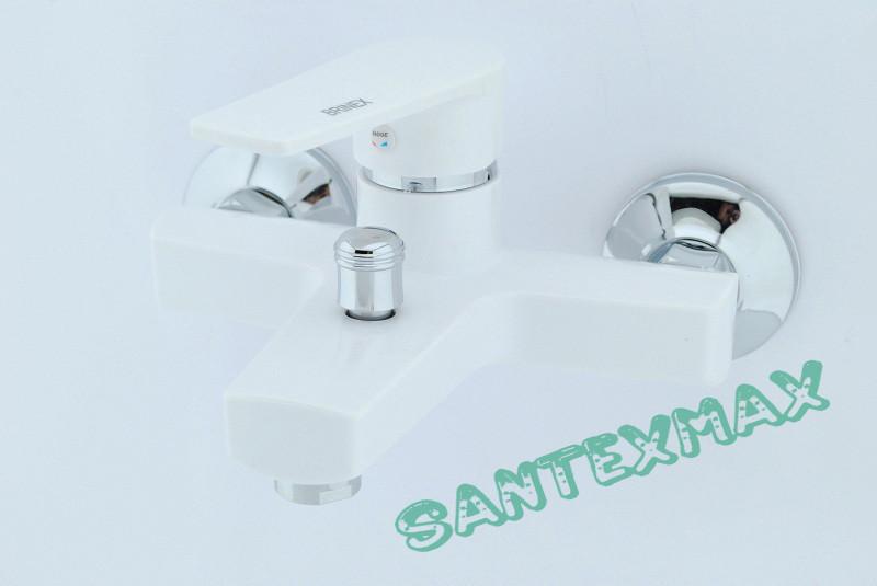 Смеситель для душа и ванны из термопластичного пластика SW Brinex 006 W