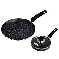 Набор сковород с мраморным покрытием Kamille KM-0615-MR