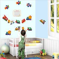 Декоративная наклейка на стену в детскую Игрушки