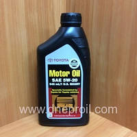 Моторное масло TOYOTA 5W-20 (00279-1QT20) 1 л. (946 мл.)