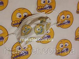 Стоматологические салфетки нагрудники  Akzenta Smily(смайлы) 500 шт