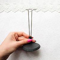 Подставка-держатель для куклы, 13 см - черная