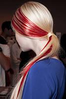 Цветной спрей для волос FLUO красный