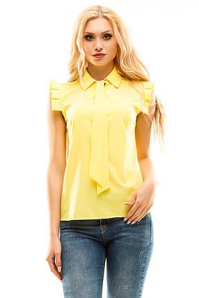 Блузка 272 желтая размер 48, фото 2