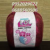 Игровой набор оригинал с куклами Лол L.O.L. Bubbly Surprise Pink Cердце-сюрприз в розовом кейсе 558378, фото 1