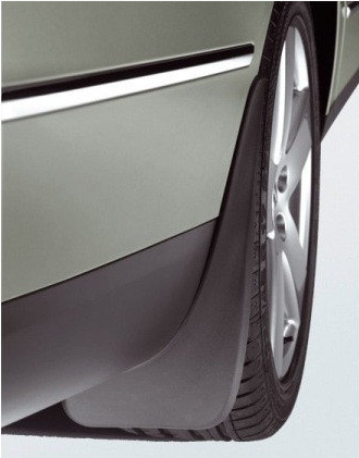 Брызговики Ауди Q3 (Audi Q3) задние (2шт)