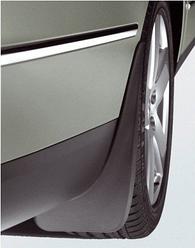 Брызговики Джип Чероки (Jeep Cherokee) 2008-2013 г (полиуретан, задние, 2 шт)