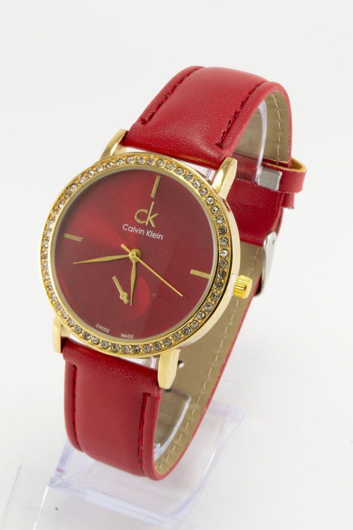 Женские наручные часы Kalvin Clein, в стиле Кэлвин Кляйн (код: 15485)