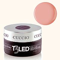 LED гель-желе для наращивания ногтей Cuccio Pro - камуфлирующий телесно-персиковый, 28 г