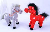 Мягкая игрушка Лошадка №1373,подарки для детей,пушистая,качественная, лучший подарок для малышей