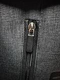 Рюкзак fila Оксфорд ткань 600d с кожаным дном спортивный городской стильный ОПТ, фото 7