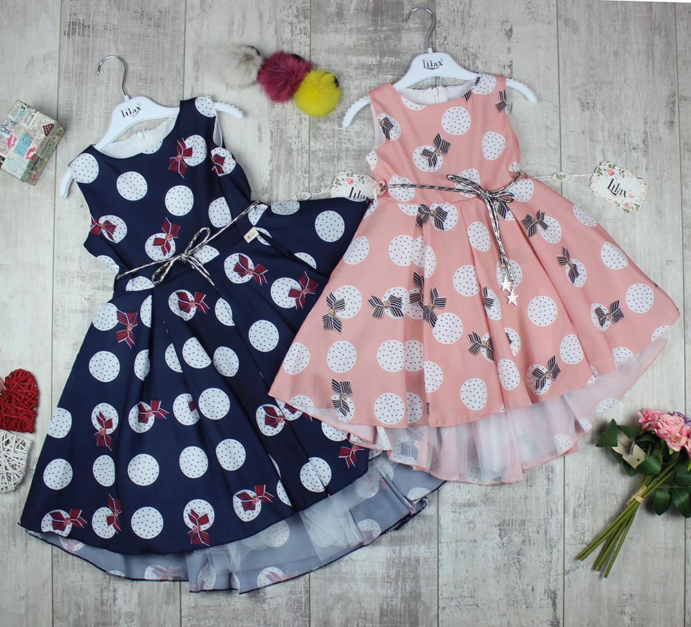 Платья детские оптом на лето №4687, фото 1