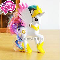 Фигурка Пони 14 СМ My Little Pony Принцесса Селестия Мой маленький пони Игрушка для девочек Единорог